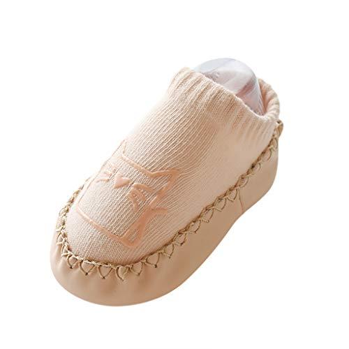 Fenverk Baby Kinder Socken Jugendliche Stricksocke Jungen MäDchen Baumwolle Bunt Elastisch Weich Winter Dicke Cartoon Tiere Neugeborene Kleinkind SöCkchen Warm 0-18 Monate