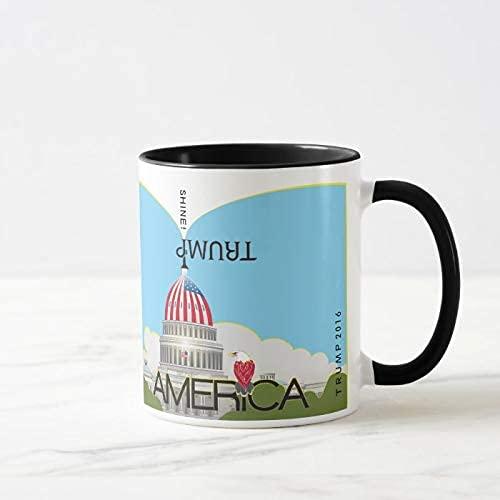 N\A Kaffeetasse, 11 Unzen Teetasse, Trump Trompete & Kapitol Tasse