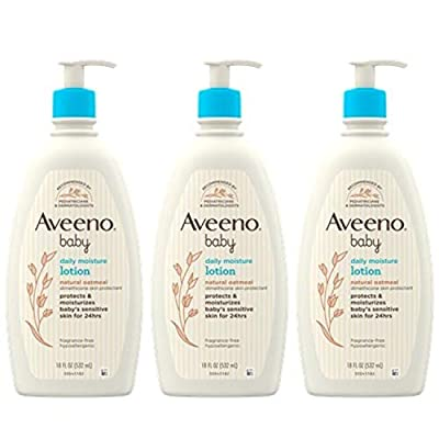 Aveeno Baby Daily Moisture Lotion for Delicate Skin with Natural Colloidal Oatmeal from Johnson&JohnsonConsumerProducts