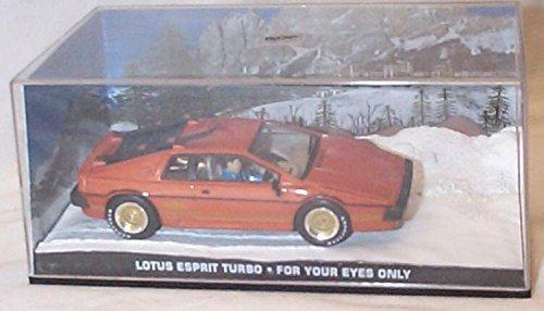 James bond 007 per i tuoi occhi solo Lotus esprit turbo film scena auto 1.43 scala modello pressofuso