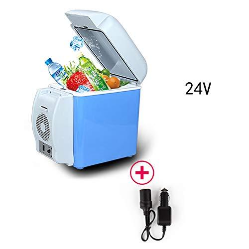 FISHD Minikühlschrank -7.5L Kompaktkühlschrank Auto Kühlschrank Gefrierschrank Kühlschrank tragbare elektrische Big Car Truck zur Verfügung Mietbrutkasten,B