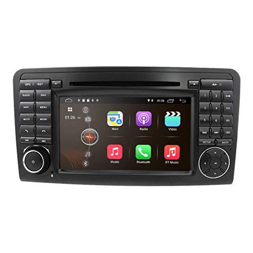 JIBO para Mercedes-Benz Clase GL X164 2005-2012 Estéreo Multimedia Jugador Android 10 Doble Estruendo Auto Radio GPS Navegación Cabeza Unidad Teléfono Control WiFi Video Receptor Nav Sat