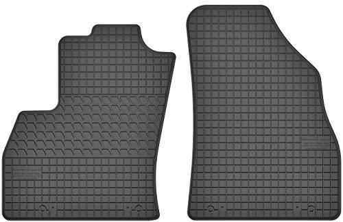 Motohobby Gummimatten Vorne Gummi Fußmatten Satz für FIAT Fiorino III/Qubo/Citroen Nemo/Peugeot Bipper (2008-2017) - 2-teilig - Passgenau