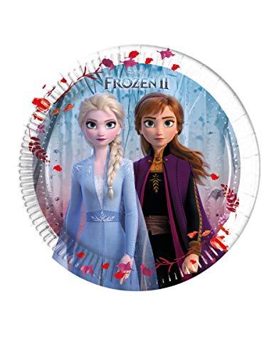 Disney Frozen 2 Assiettes 99480, bleu
