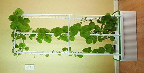 Hydroponic Vegetable Support Tower for Cucumbers, Tomatoes, Peas, Beans