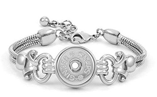 Ginger Snaps Royal 1 SNAP Bracelet SN95-01 (Standard Size) Interchangeable Jewelry Accessory