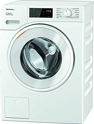 Miele WSD323 Freestanding Washing Machine with Quick Powerwash, 8 kg Load, 1400rpm spin, White [Energy Class A]