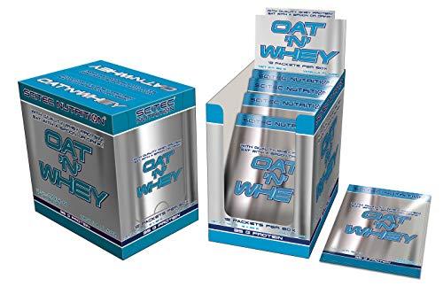 Scitec Nutrition OAT N' WHEY - Vanilla (12 x 92g) 1104g Box