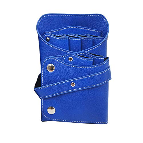 Coiffure Ciseaux Sac Kit Coiffure Professionnels Ciseaux Taille Sac Coiffure Porte Pouch Ceinture Sac Salon Sac de Rangement Outil Voyage avec Design Big Pocket (Color : 281 Blue, Size : One Size)
