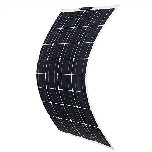 GTFHUH Panel Solar 800W 400W 18V MONOCRYSTALLINE Pet Pear Flexible del Panel Solar Completo Cargador DE LA BATERÍA del Car RV,400W