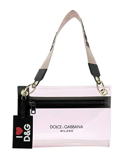 Moda De Lujo | Dolce E Gabbana Mujer BI1213AK376HFY63 Rosa Fibras Sintéticas Bolso De Mano | Temporada Outlet