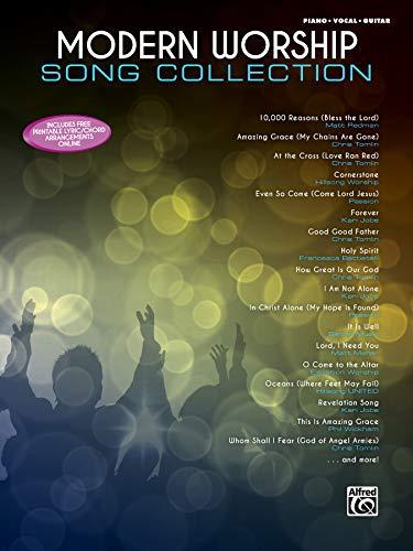 Modern Worship Song Collection: Piano Vocal Guitar