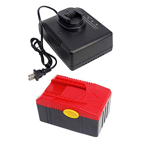 FengWings 18V 4,0A CTB6187 Replace Battery + CTC620 Charger Kit for Snap On CTB6185 CTB4187 CTB4185