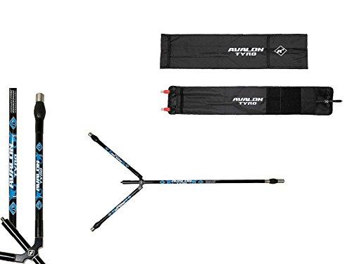 Avalon Tyro A3 Stabilisator Set 28'' Zoll schwarz/blau