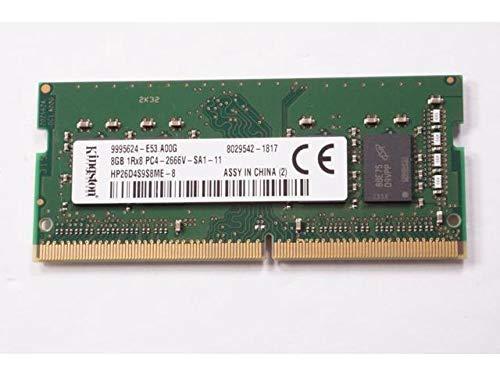 HP HP26D4S9S8ME SODIMM 8GB 2666MHz 1,2V DDR4 PC4-21300 Arbeitsspeicher PN: 862397-850 für EliteDesk, ProDesk, EliteBook, ProBook, EliteOne & ProOne Serie