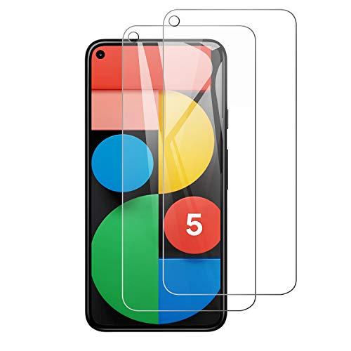 【2枚セット透明 薄型】Google Pixel 5 ガラスフィルム/日本製素材旭硝子製/高硬度9H/液晶保護/超薄0.3mm /...