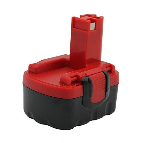 Kinon Reemplazo Herramienta Eléctrica Batería 14.4V 1.5Ah Para Bosch Taladro Inalámbrico Destornillador...