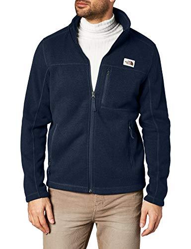 The North Face Men's Gordon Lyons Full Zip Fleece Jacket, Urban Navy Heather, X-Large