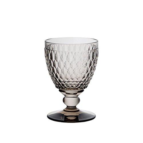 Villeroy & Boch Boston coloured Wasserglas Smoke, Kristallglas, 14.4 x 6 x 4 cm
