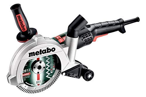 metabo 4061792134614 600433500-Rectificadora Sistema de Corte de Diamante con aspiración TEPB 19-180 RT CED 1900W Disco de 180 mm con maletín, Negro, Size