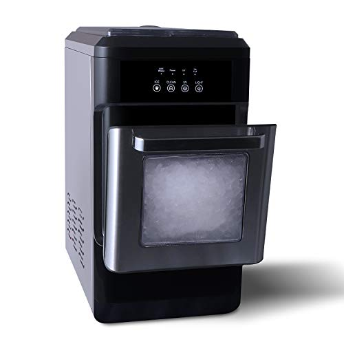 ADT Countertop Crunchy Chewable Nugget Ice Maker 44lbs per Day