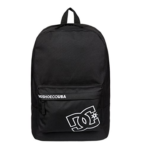 DC Shoes Herren Backpack Bunker SOLID M BKPK, schwarz, 43 x 30 x 17 cm 20 Liter