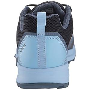 adidas outdoor Women's Terrex Tracerocker GTX Trail Running Shoe, Legend Ink/Legend Ink/Glow Blue, 11.5 M US