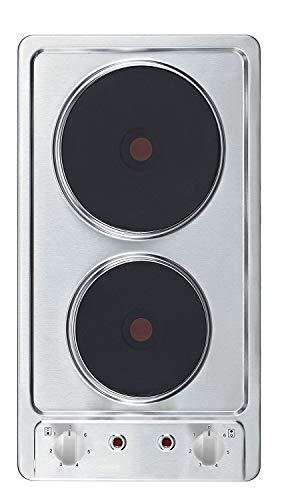 PKM EB-DKF-2 Edelstahl Autarkes Kochfeld, Kochplatten, 30cm