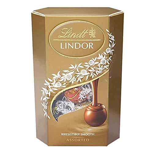 Chocolate Lindt Lindor Trufas Sortidas Recheio Cremoso 200g