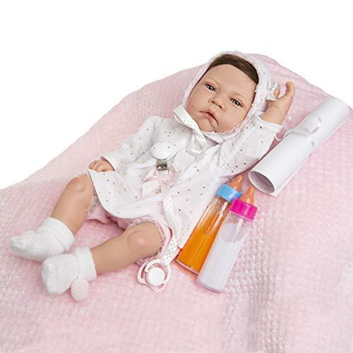 MARÍA JESÚS Bebe Reborn Muñecos Reborn simulación con Peso Especial Hechas en España, muñecas Bebes para niñas, Bebes Reborn, Baby Reborn