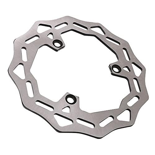 YYOMXXOM Rotor del Disco del Freno Trasero del Acero Inoxidable de la Motocicleta Apta para Kawasaki EX500 GPZ500 NINJA500 ZR250 ZX2 R ZXR250