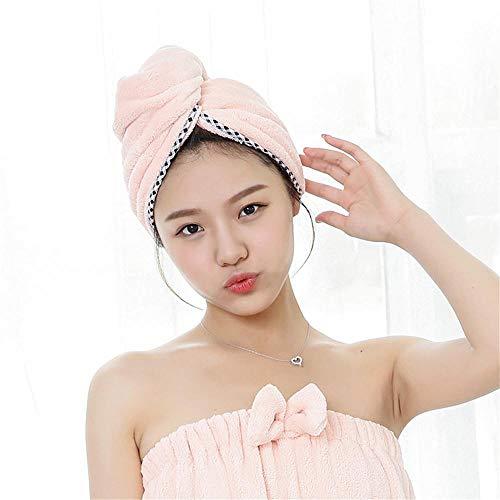 Head wikkelen handdoek 2 stuks microvezel haardoekwikkels voor vrouwen, superabsorberende, sneldrogende haartulband voor het drogen van krullend, droog haar, badhaarkap