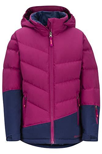 Marmot Mädchen Girl's Slingshot Jacke, Purple Berry/Arctic Navy, XS