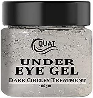 Quat Under Eye Cream/Gel for Dark Circles, Puffy Eyes, Wrinkles & Removal Of Fine Lines for Women & Men 100gm