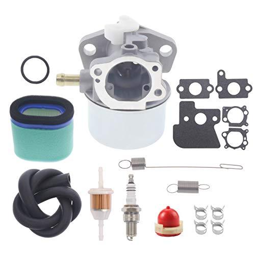 Hutdkte Carburetor for Toro 20011 20027 20038 20039 20794 20796 20783 20784 26634 JA60 JA62 JA65 JS40 JS45 JS60 JS61 JS63 JS63C JS63E Walk Behind Lawn Mower with Air Filter Spring Kit
