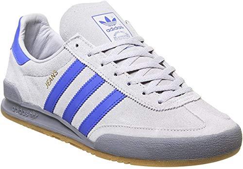 adidas Synthetische Jeans Fitness-Schuhe mit 3 Streifen und Schnürung für Herren 9 UK Grau