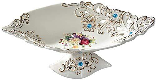 Ceramic fruitschaal modern creatieve snack plaat Europese geschilderd fruitschaal woonkamer koffietafel decoratie ornamenten