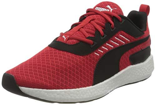PUMA Nrgy Elate, Zapatillas para Correr de Carretera Hombre, Rojo (High Risk Red Black White), 43 EU