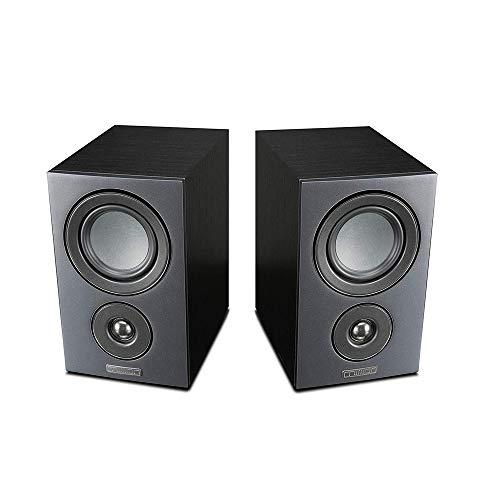 Mission LX Series Bookshelf Speaker Hifi HD Stereo Surround Speaker (Pair) Lx-1 negro