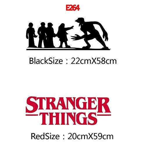 ZNuQP Nuevas Pegatinas de Pared Stranger Things Decal