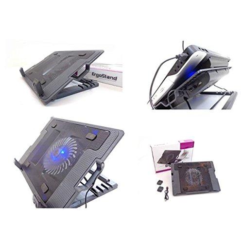 No brand ERGOSTAND Ventola Raffreddamento DISSIPATORE Notebook PC con Supporto INCLINABILE