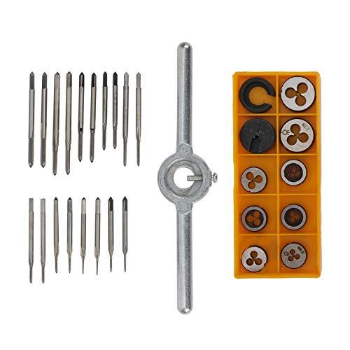 Resistencia a la corrosión y resistencia al óxido, juego de llaves de grifo de 30 piezas, llave de soporte de grifo con mango en T, juego de herramientas manuales