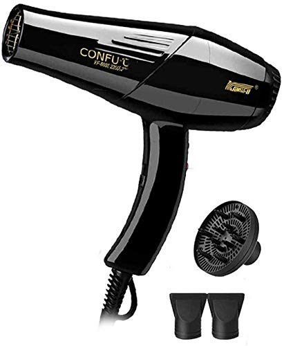 Pkfinrd Powerful 2200 W High Power Professional Hair Dryer Family Mote-tempereerapparaat haarverzorging hete en koude föhn