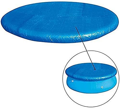 ZGYZ Cubiertas de Piscina Resistentes al PE para Piscinas elevadas Cubierta Antipolvo Inflable Tela Gruesa para el Suelo de la Piscina para Exteriores (Cubierta, 305 cm/10 pies)