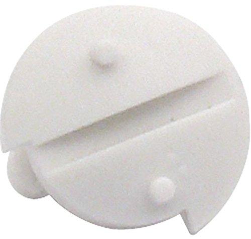 Dometic Verriegelungsschraube für Lüftungsgitter L und Winterabdeckungen weiß