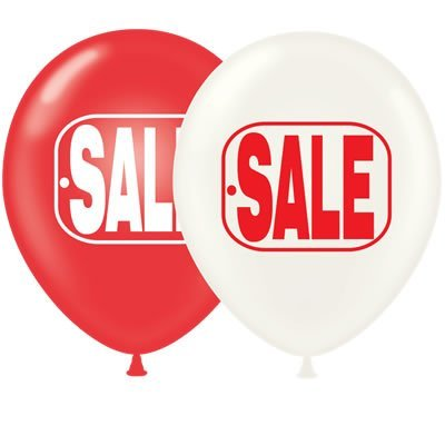 17 Inch SALE Balloons (Premium Outdoor Helium Quality) By Tuftex 50 Ct