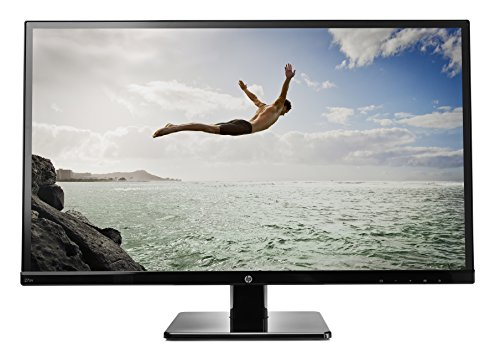 HP 27-inch LED Backlit Monitor (27sv, Black)