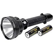 Sofirn SP70 LED Taschenlampe Extreme Hell 5500 Lumen CREE XHP70.2 LED mit 26650 Akku für Camping Wandern Angeln
