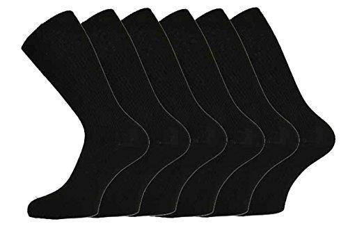 Socks Uwear Lot de 3 paires de chaussettes 100 % coton Non élastique Homme
