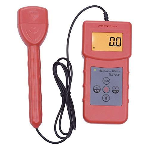 HYY-YY Precies instrument Digitaal Hoge Meetnauwkeurigheid Vochtmeter Met 2 Korte pinnen Vochtmeter MS7200 Voor Papieren Bouw Bodem
